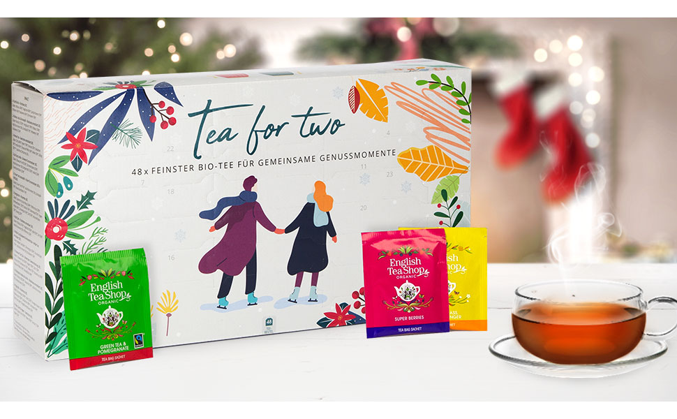 Tea for Two Adventskalender für Zwei von English Tea Shop