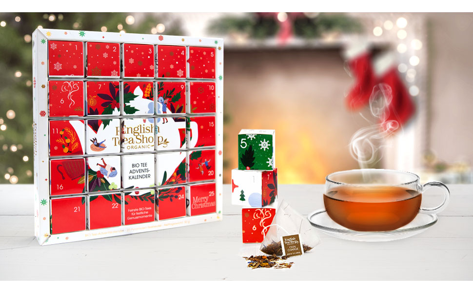 Puzzle-Tee-Adventskalender English Tea Shop