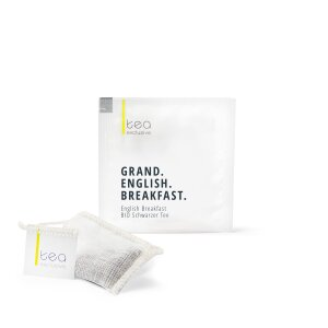 Grand English Breakfast, BIO Schwarzer Tee, 20 Teebeutel