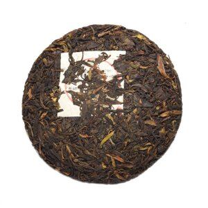 Pu-Erh 2015 Wuliangshan, China, Fladen 250g