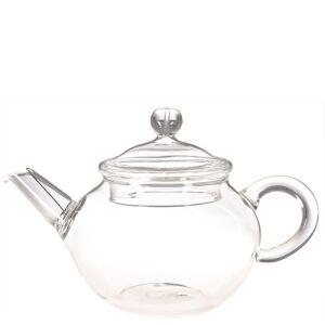 kleine teekanne aus glas 200ml teeversand tee shop online tea e. Black Bedroom Furniture Sets. Home Design Ideas