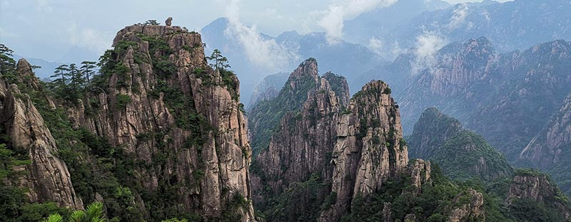 Huang Shan Berge in Anhui, China