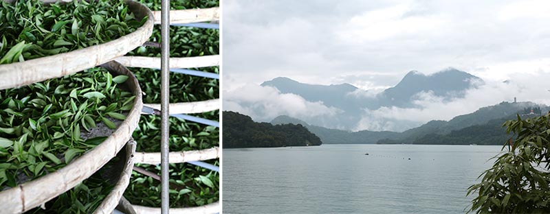 Sun Moon Lake in Taiwan