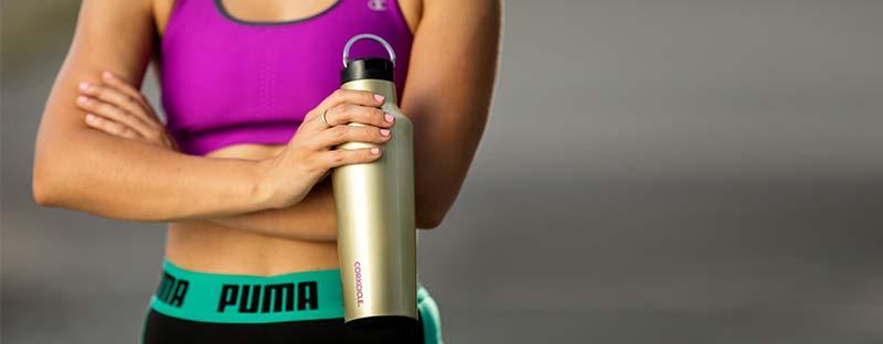 Isolierflasche - Perfekt beim Sport