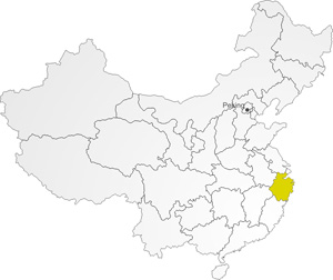 Provinz Zhejiang in China