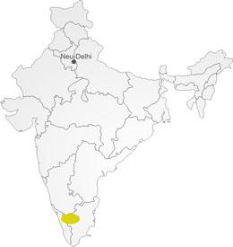 Nilgiri in Indien
