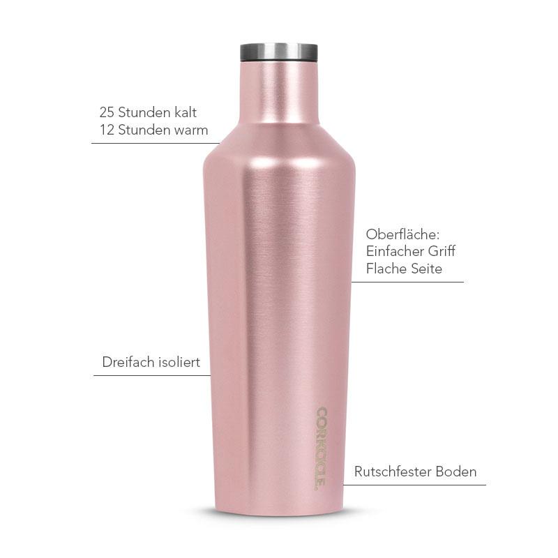 Isolierflasche 475ml, rosé