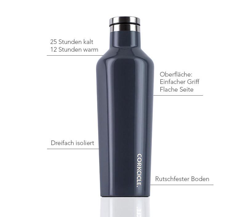 Isolierflasche 475ml, graphite