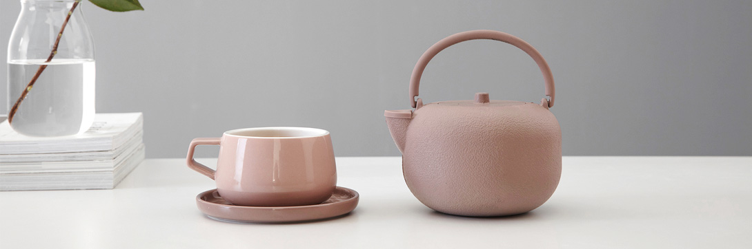 Anwendung Eisenkanne Saga, soft pink