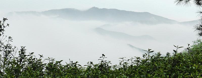 Berghänge von Mannong