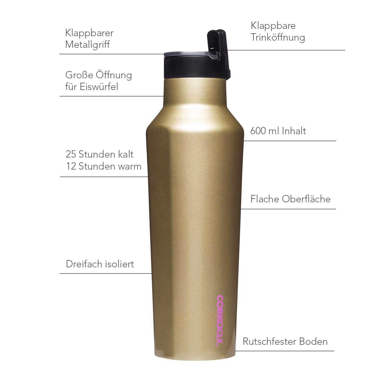 Isolierflasche 600ml