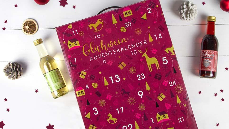 Glühwein Adventskalender für eine genussvolle Vorweihnachtszeit